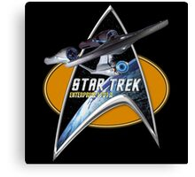 StarTrek Enterprise 1701 A  Command Signia Chest Canvas Print