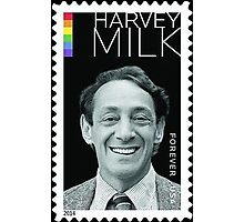 Harvey Milk Postage Stamp Photographic Print