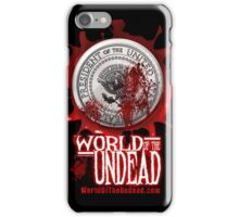 World of the Undead - Presidential Seal iPhone Case/Skin