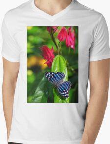 blue wings Mens V-Neck T-Shirt