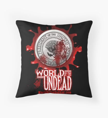 World of the Undead - Presidential Seal Throw Pillow