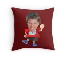 David Villager Throw Pillow