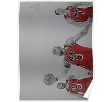 Miami Heat Big Three Poster