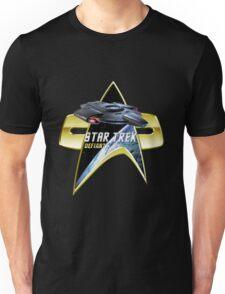 StarTrek defiant Com badge Unisex T-Shirt