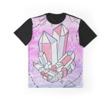 Pastel Crystal Graphic T-Shirt