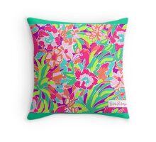 Lilly Pulitzer: Flamingo Print Throw Pillow