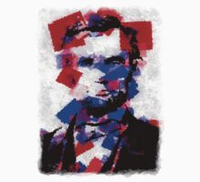 Abraham Lincoln Abstract 01 One Piece - Long Sleeve