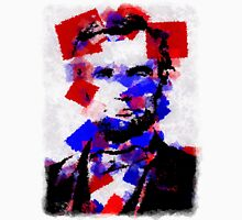 Abraham Lincoln Abstract 01 Unisex T-Shirt