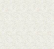 White lace pattern products by Vickie Emms