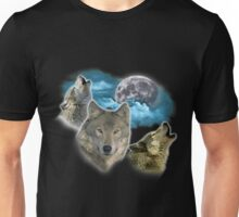 Wolves Moon Unisex T-Shirt