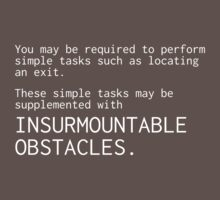 Insurmountable Obstacles by chipchops