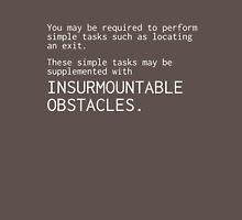 Insurmountable Obstacles Unisex T-Shirt