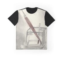Paint and Draw Graphic T-Shirt