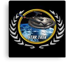 Star trek Federation of Planets Enterprise NX01 Canvas Print