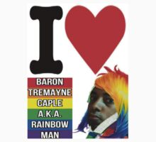 I Love Baron Tremayne Caple A.K.A. Rainbow Man One Piece - Long Sleeve