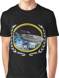 Star trek Federation of Planets Enterprise sovereign E Graphic T-Shirt