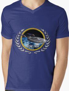 Star trek Federation of Planets Enterprise sovereign E Mens V-Neck T-Shirt