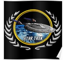Star trek Federation of Planets Enterprise sovereign E Poster