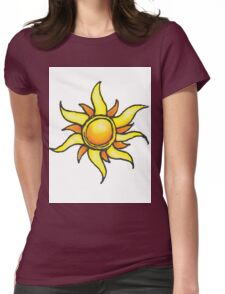 Tangled Up in the Sun Womens Fitted T-Shirt