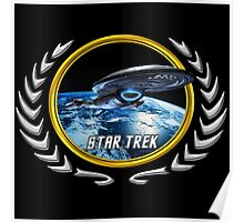 Star trek Federation of Planets Voyager Poster