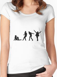 Michael Jackson Evolution Women's Fitted Scoop T-Shirt