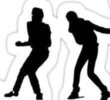 Michael Jackson Evolution Sticker