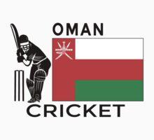 Oman Cricket One Piece - Short Sleeve