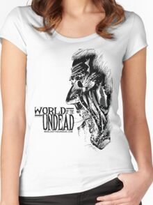 World of the Undead - Scream BoW Women's Fitted Scoop T-Shirt
