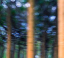 ~ the blue confetti forest ~ Sticker