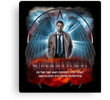 Supernatural I'm the one who gripped you tight and raised you from Perdition 3 Canvas Print