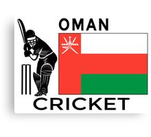 Oman Cricket Canvas Print