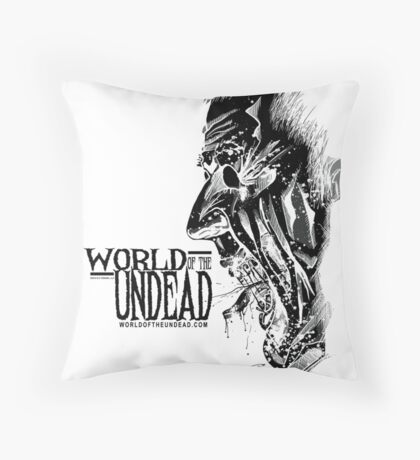 World of the Undead - Scream BoW Throw Pillow