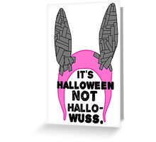 Louise Belcher Halloween Hat Greeting Card