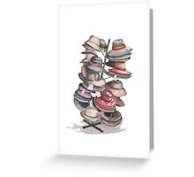 Hat Stand Greeting Card