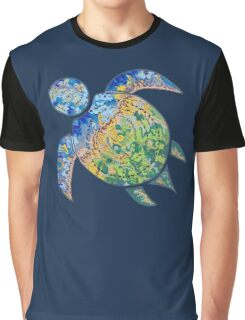 Adventure Turtle Graphic T-Shirt