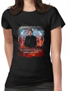 Supernatural Crowley King of Hell Womens Fitted T-Shirt