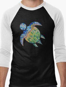 Adventure Turtle Men's Baseball ¾ T-Shirt