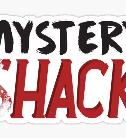 Mystery Shack Faded  Sticker