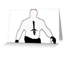 Brock Lesnar Greeting Card
