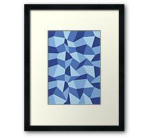 Polygon Sky Framed Print