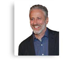 Jon Stewart Canvas Print