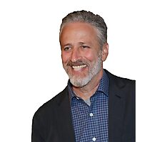 Jon Stewart Photographic Print
