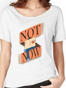 Not now, I'm reading Women's Relaxed Fit T-Shirt