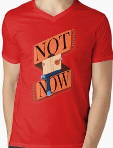 Not now, I'm reading Mens V-Neck T-Shirt