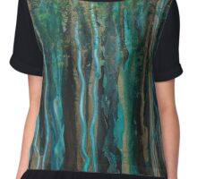 Deep Woods Chiffon Top