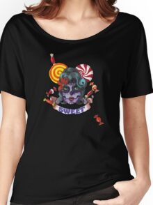 Sugar Skull And Candy Women's Relaxed Fit T-Shirt
