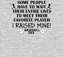 Baseball Dad - I raised my favorite player (Black print) Unisex T-Shirt