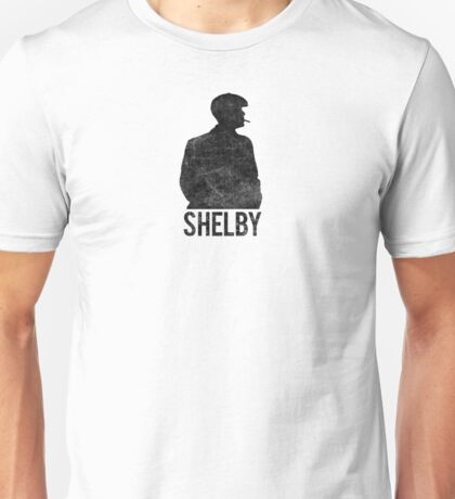 Peaky Blinders - Shelby Silhouette - Black Dirty Unisex T-Shirt