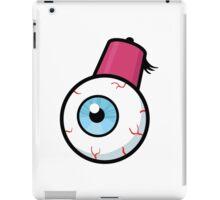 Eyeball wearing a fez iPad Case/Skin