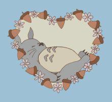 Sleeping Totoro Kids Tee